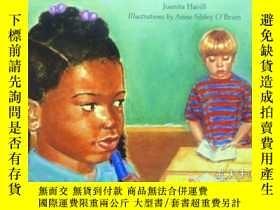 二手書博民逛書店英文原版罕見少兒繪本 Jamaica s Blue Marker