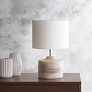 美式簡約原木床頭小檯燈 創意個性臥室房間客廳樣板房軟裝燈飾 t20024-1