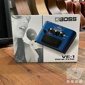 【凱傑樂器】 BOSS VE-1 Vocal Echo 錄音室等級 人聲效果器