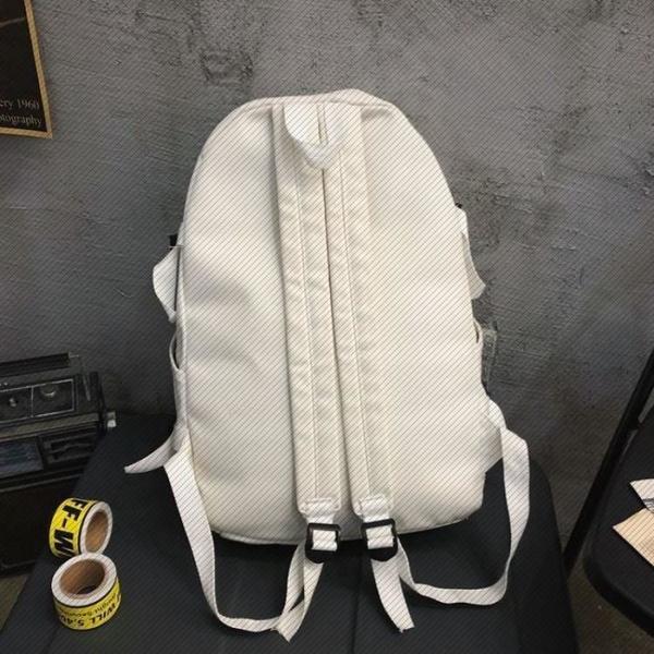 帆布雙肩包新款大容量旅行背包日系百搭INS書包女