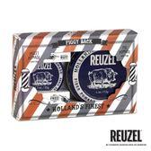 REUZEL Fiber Pomade 深藍豬油禮盒組(髮泥113g + 35g)