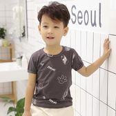 兒童純棉短袖T恤夏季2018新款男童中小童半袖上衣寶寶男孩小孩