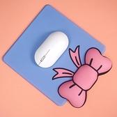 手托墊 護腕滑鼠墊手托蝴蝶結創意矽膠可愛卡通女生ins風辦公萌物簡約墊