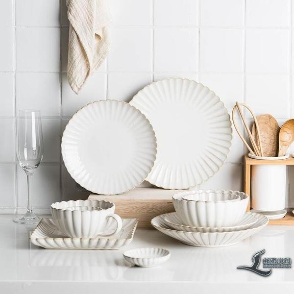 西餐盤窯變釉陶瓷碗盤餐具家用盤子菜盤碗碟魚湯盤【邻家小鎮】