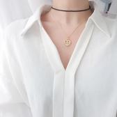 鎖骨鏈 銀質十字架愛心項鏈北歐風CHIC氣質個性女款18K金鎖骨鏈熱銷