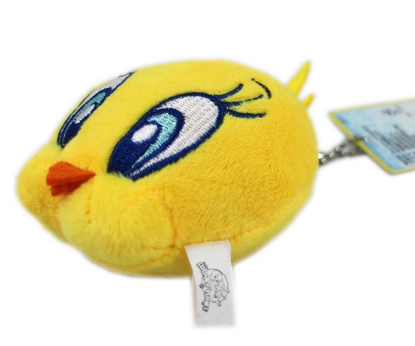 【卡漫城】 Tweety 吊飾 ㊣版 迷你 絨毛 玩偶 裝飾品 鑰匙圈 掛飾 娃娃 崔弟 珠鍊 崔蒂 金絲雀