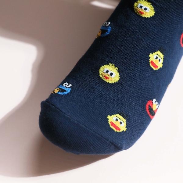 【正韓直送】韓國襪子 芝麻街滿版小圖短襪 船襪 女襪 船型襪 ELMO 韓妞必備 哈囉喬伊 J5