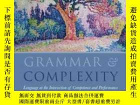 二手書博民逛書店Grammar罕見And Complexity: Languag