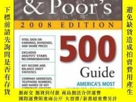 二手書博民逛書店Standard罕見And Poor s 500 Guide 2