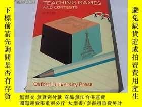 二手書博民逛書店語言教學遊戲和競賽罕見Language-teaching gam