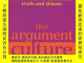 二手書博民逛書店The罕見Argument CultureY255562 Deborah Tannen Virago Pres