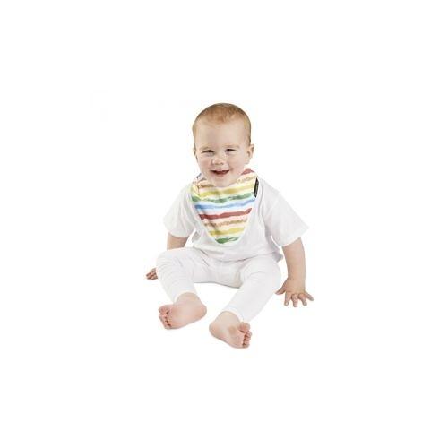 紐西蘭 Mum 2 Mum 雙面竹纖維棉機能口水巾圍兜-彩虹/星星[衛立兒生活館]
