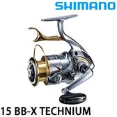 漁拓釣具 SHIMANO 15 BB-X TECHNIUM (手剎車捲線器)