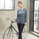 【8:AT 】長袖上衣 M-XL(深藍)(未購滿1件恕無法出貨,退貨需整筆退)
