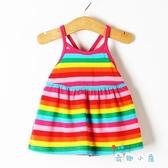 夏季兒童連身裙女童寶寶吊帶小公主裙子韓版【奇趣小屋】