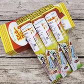 日本零食名糖牛奶用吸管糖(巧克力香蕉)16g_3入【0216零食團購】4901243121841