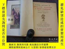 二手書博民逛書店Flower罕見Grouping in English, Sco