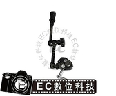 【EC  】蟹夾鉗外接螢幕固定座蟹鉗夾魔術怪手夾頭LED 攝影燈補光燈閃光燈夾具