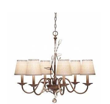 鐵藝簡約客廳水晶吊燈宜家復古燈LG-18825