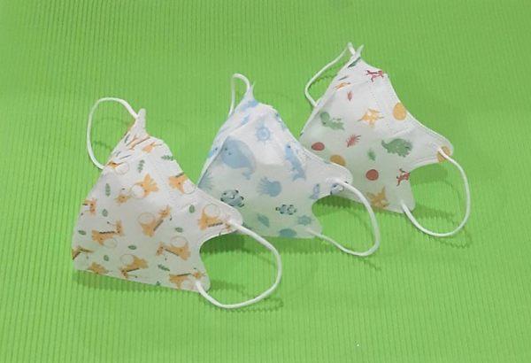 【雨晴牌-超立體3D口罩】】(A級高效能)(細耳帶) @兒幼童-可愛海洋世界@SGS合格可愛卡通 無異味