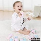 嬰兒 手搖鈴 抓握0-1歲新生幼兒3寶寶 益智 咬咬牙膠玩具 6-12個月七六