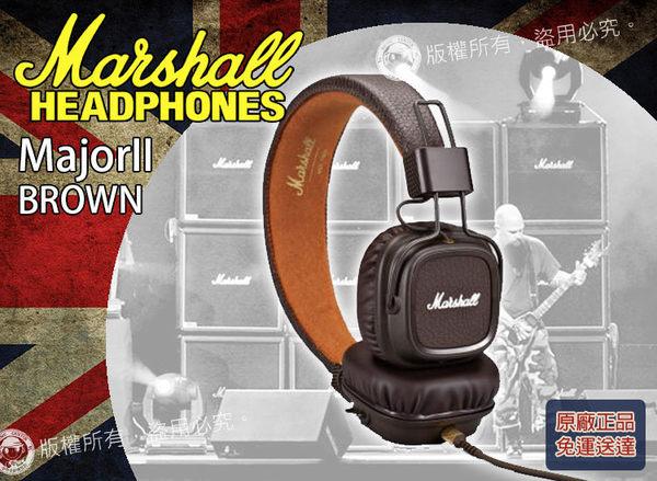 【小麥老師 樂器館】最新款 免運優惠 Marshall Major II Brown 棕色 英國大廠 耳罩式耳機 耳機