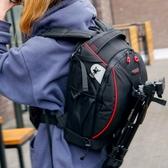相機收納包專業佳能尼康單反相機包後背攝影包大容量防水防盜多功能背包索尼LX 韓國時尚週