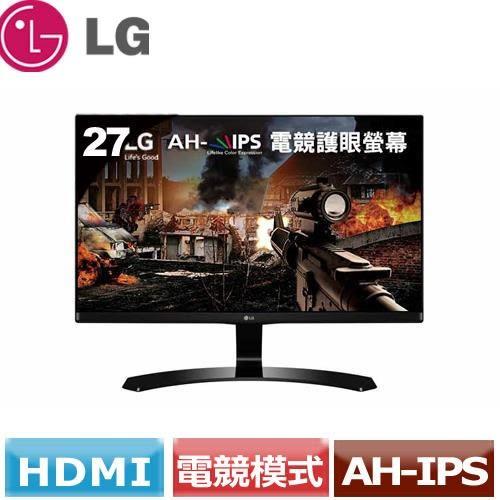 LG 27型美型電競護眼螢幕 27MP68VQ-P