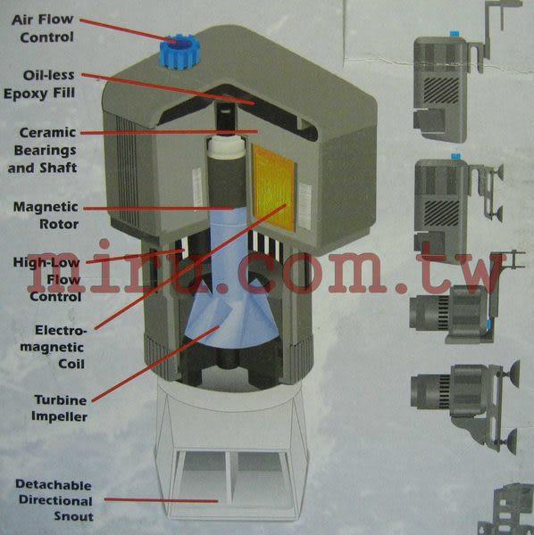 【西高地水族坊】RIO系列產品 SEIO高溶氧馬達M2600