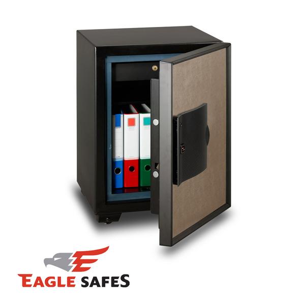 Eagle Safes 韓國防火金庫 保險箱 (EGE-070-BZ)(藕灰)【速霸科技館】