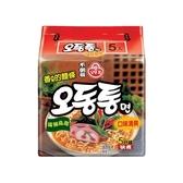 韓國不倒翁 海鮮風味烏龍拉麵(120gx5包)整袋裝【小三美日】 泡麵/進口/團購