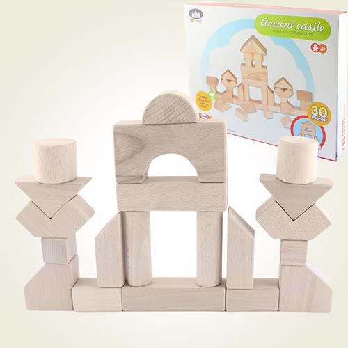 【瑪琍歐玩具】懷舊城堡積木組/AC-1017