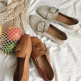 (全館一件免運費)DE shop~(NN-333)懶人鞋百搭平跟女豆豆鞋