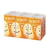 統一蜜豆奶雞蛋250ml*6【愛買】