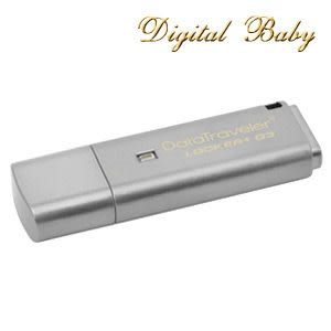 【免運費】 Kingston 金士頓 DataTraveler Locker+ G3 8GB 8G USB 3.0 隨身碟 DTLPG3