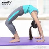 瑜伽墊 瑜伽墊初學者加厚加寬加長運動防滑喻咖健身兒童舞蹈跳舞墊子地墊 蘇荷精品女裝IGO