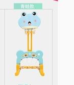 兒童籃球架室內可升降投籃框寶寶家用落地式足球筐小男孩球類玩具