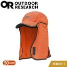 【Outdoor Research 美國 兒童款 抗UV透氣護頸《橘》】243434/防曬後遮/棒球帽/遮陽帽