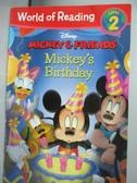 【書寶二手書T5/少年童書_OAW】Mickey's Birthday_Risco, Elle D./ Disney S