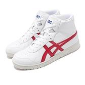 Asics Tiger 休閒鞋 Japan L 白 紅 虎爪 復古 籃球鞋 男鞋 高筒 【ACS】 1191A270101