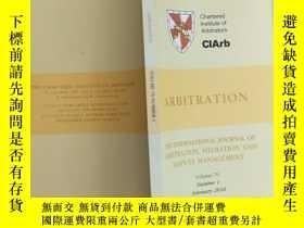 二手書博民逛書店Arbitration罕見volume 76 number 1Y