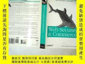 二手書博民逛書店WEB罕見SECURITY COMMERCE 網絡安全商務 16