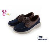Skechers休閒鞋 男鞋 GOWALK 5 健走鞋 運動鞋 帆船鞋 瑜珈墊 S8243#藍色◆OSOME奧森鞋業