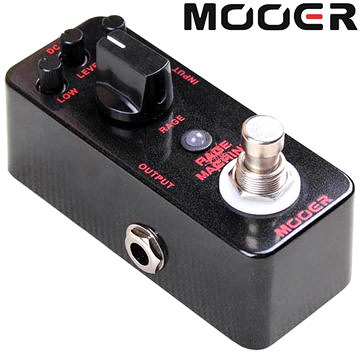 ★集樂城樂器★Mooer Rage Machine 重金屬破音效果器 Rage Machine(Metal)【Metal Distortion Pedal】MREG-RM