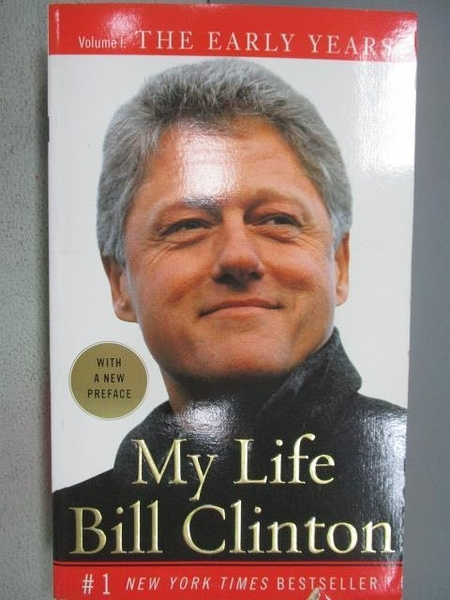 【書寶二手書T6/傳記_MOP】My Life_Bill Clinton