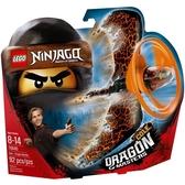70645【LEGO 樂高積木】旋風忍者系列 Ninjago -阿剛 土之飛龍大師