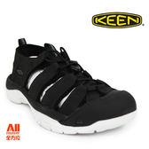 【KEEN】男款 NEWPORT H2 戶外休閒涼鞋-黑白(1016865)全方位跑步概念館
