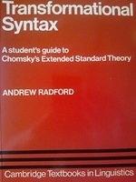 二手書《Transformational Syntax: A Student s Guide to Chomsky s Extended Standard Theory》 R2Y ISBN:0521285747