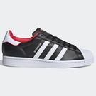 Adidas Superstar 女鞋 休閒 50周年 皮革 復古 皮革 金標 內側刺繡 黑【運動世界】FW6385