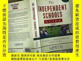 二手書博民逛書店The罕見INDEPENDENT SCHOOLS GUIDE 2